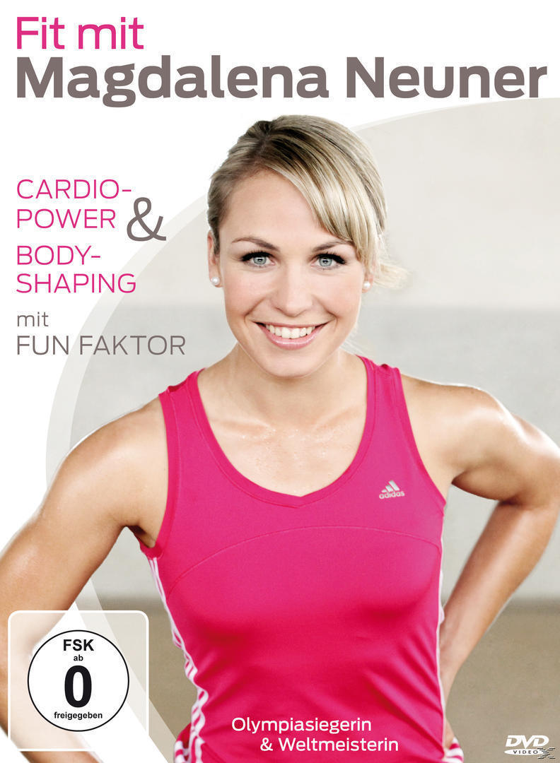 Fit mit Madgalena Neuner - Cardio-Power & Bodyshaping mit Fun Faktor (DVD) für 16,99 Euro