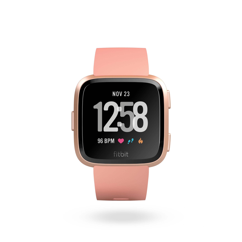 Fitbit Versa Smartwatch 15 Trainingsmodi On-Display-Trainings für 199,95 Euro
