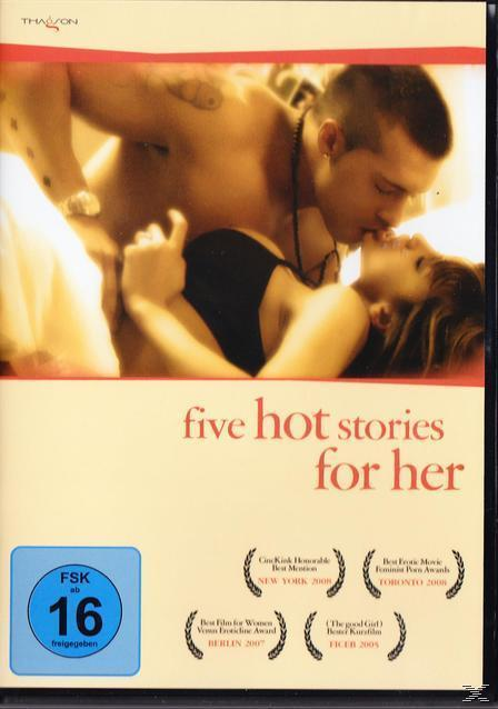 Five Hot Stories for Her (DVD) für 7,99 Euro