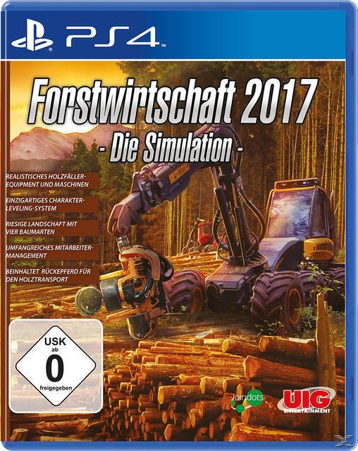 Forstwirtschaft 2017 (PlayStation 4) für 24,99 Euro