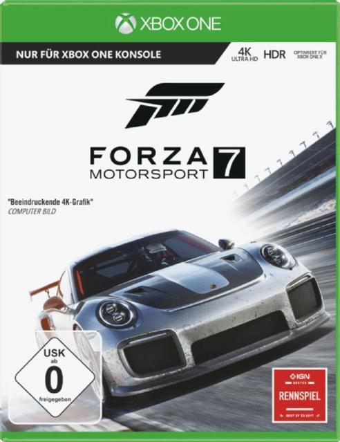 Forza Motorsport 7 - Standard Edition (Xbox One) für 59,99 Euro