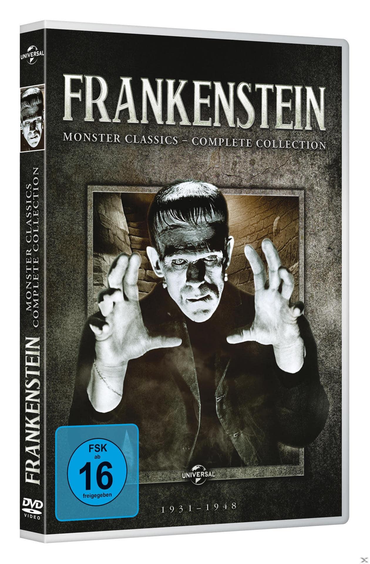 Frankenstein: Monster Classics - Complete Collection DVD-Box (DVD) für 24,99 Euro