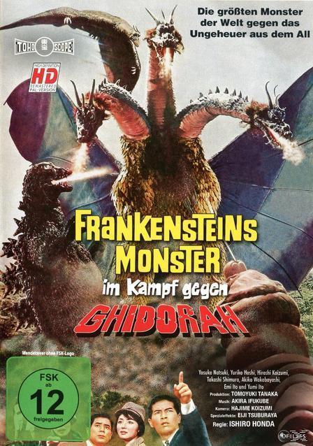 Frankensteins Monster im Kampf gegen Ghidorah (DVD) für 7,99 Euro