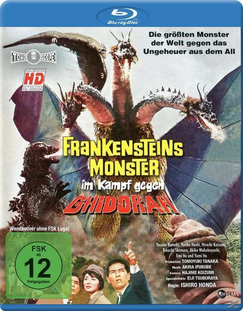 Frankensteins Monster im Kampf gegen Ghidorah (BLU-RAY) für 9,99 Euro