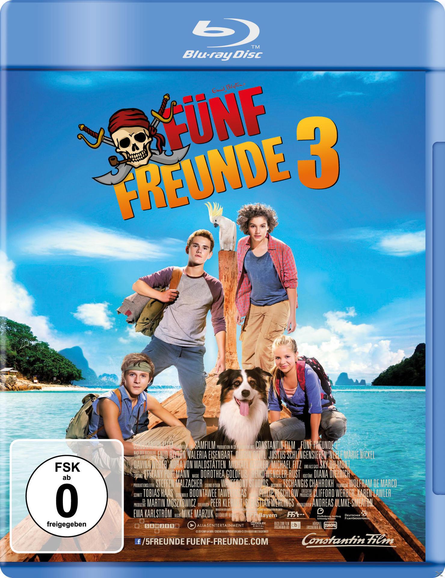 Fünf Freunde 3 (BLU-RAY) für 8,99 Euro