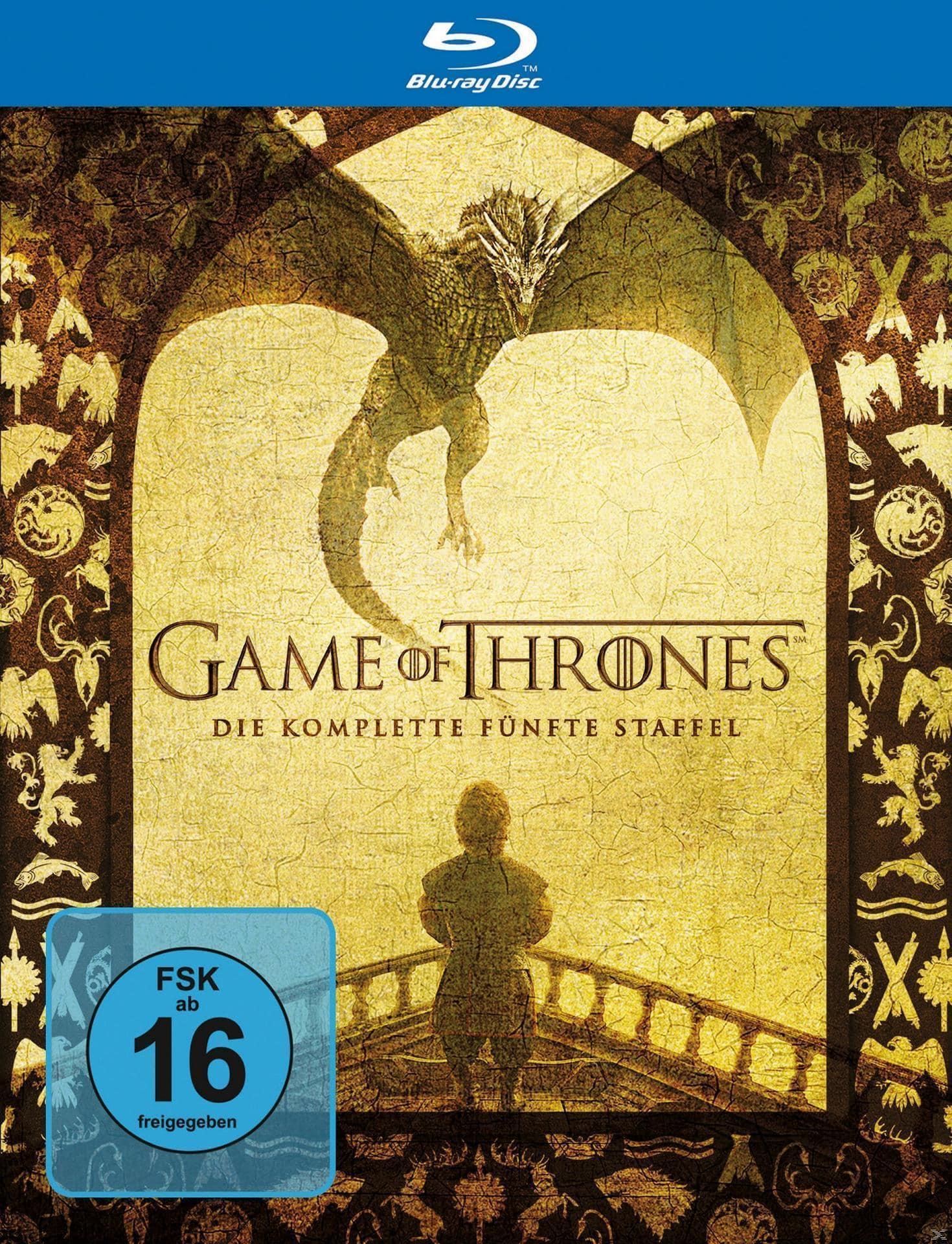 Game of Thrones - Staffel 5 (BLU-RAY) für 21,99 Euro