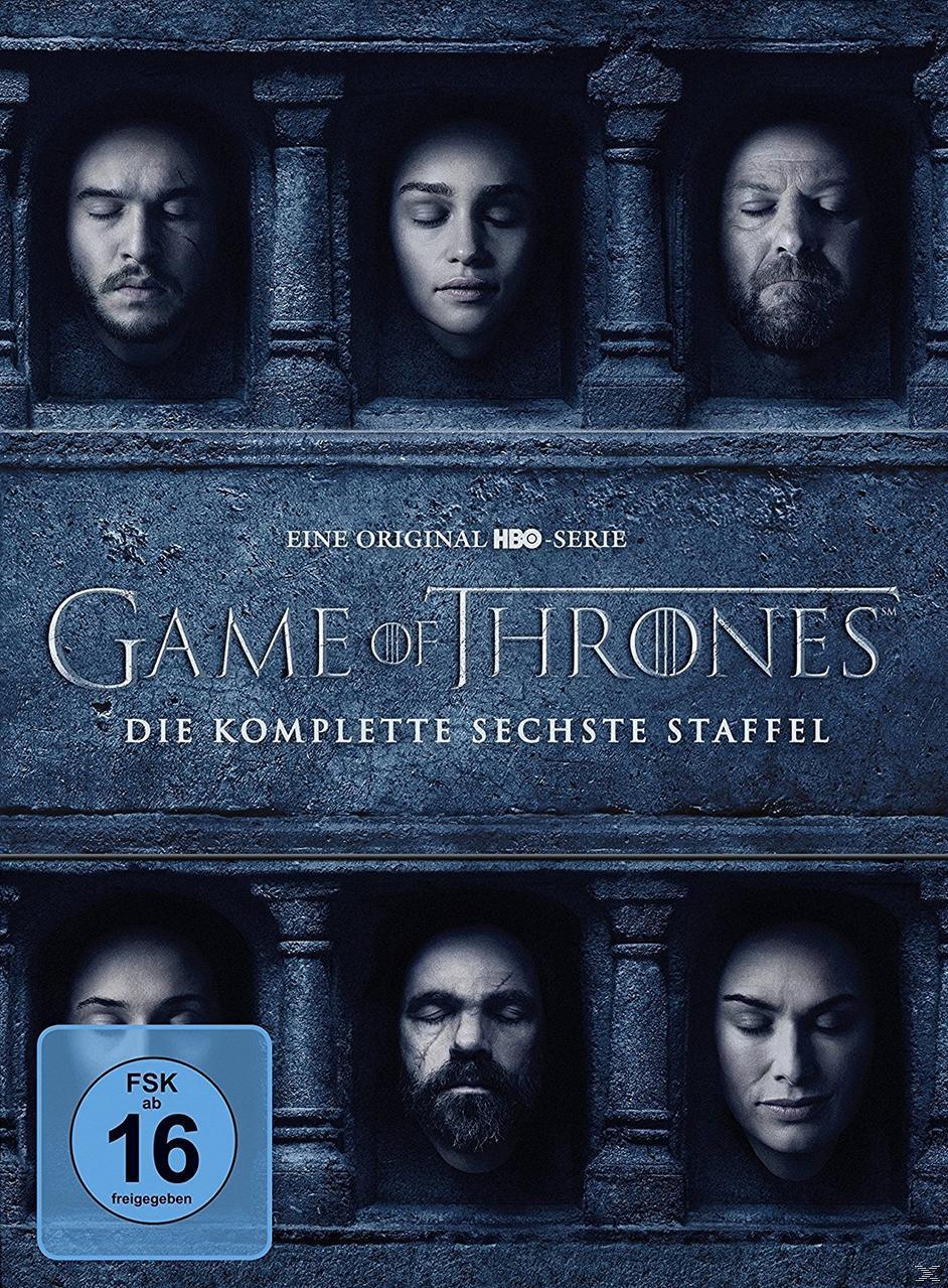 Game of Thrones - Staffel 6 DVD-Box (DVD) für 21,44 Euro