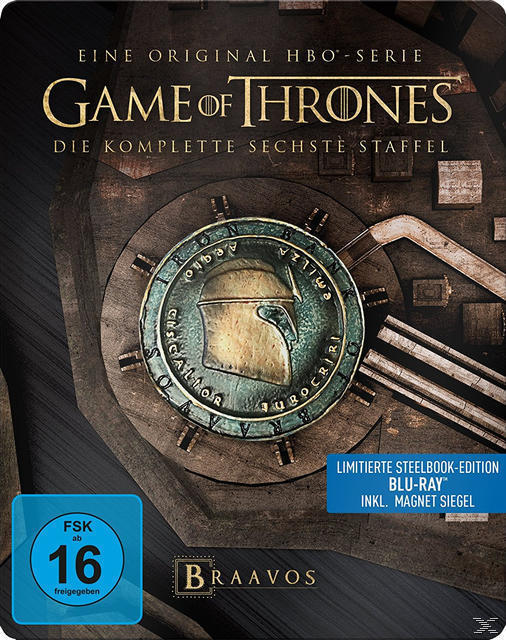 Game of Thrones - Staffel 6 Limited Steelcase Edition (BLU-RAY) für 49,00 Euro