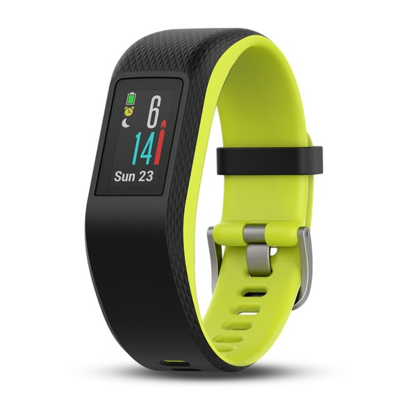 Garmin Vivosport Größe L Smart-Fitness-Tracker GPS Stress-Level-Tracking für 119,99 Euro