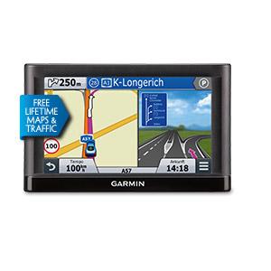 Garmin nüvi 55LMT Navigationsgerät 5'' Lebenslange Kartenupdates für 95,00 Euro