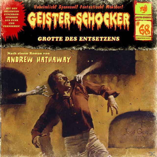 Geister-Schocker 68: Die Grotte des Entsetzens  (CD(s)) für 5,99 Euro