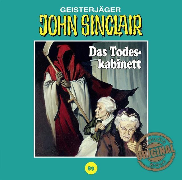 Geisterjäger John Sinclair: Das Todeskabinett (89) (CD(s)) für 6,99 Euro