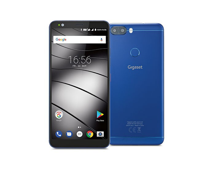 Gigaset GS 370 Plus Smartphone 14,4cm/5,7'' Android 7.0 13/8MP 64GB Dual-SIM für 219,00 Euro