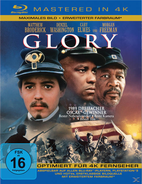 Glory Remastered (BLU-RAY) für 14,99 Euro