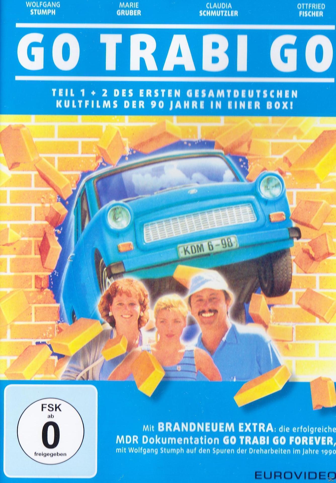 Go Trabi Go I + II (DVD) für 9,99 Euro