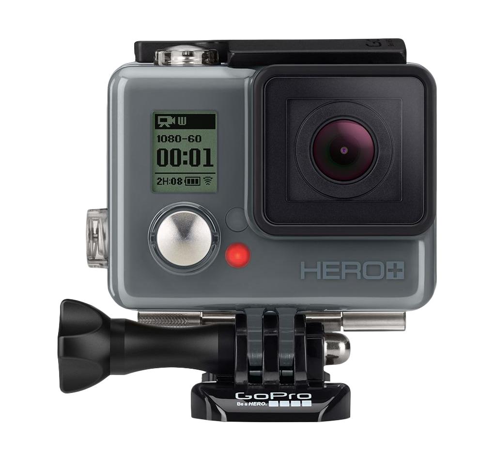 GoPro HERO+ Action Kamera 8MP Full-HD WLAN Bluetooth bis 40m wasserdicht für 189,00 Euro