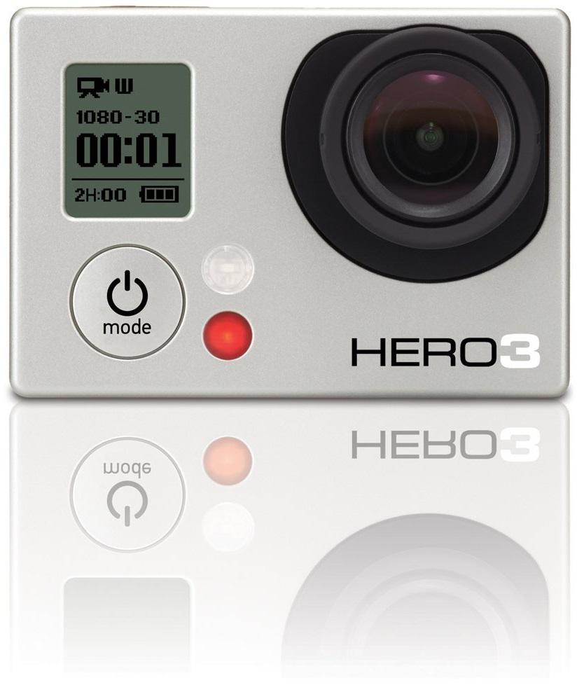 GoPro HERO3 White Edition Action Kamera 5MP WLAN Full-HD für 199,00 Euro