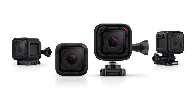 GoPro HERO Session Action Kamera 8MP WLAN Bluetooth wasserdicht bis 10m für 169,00 Euro