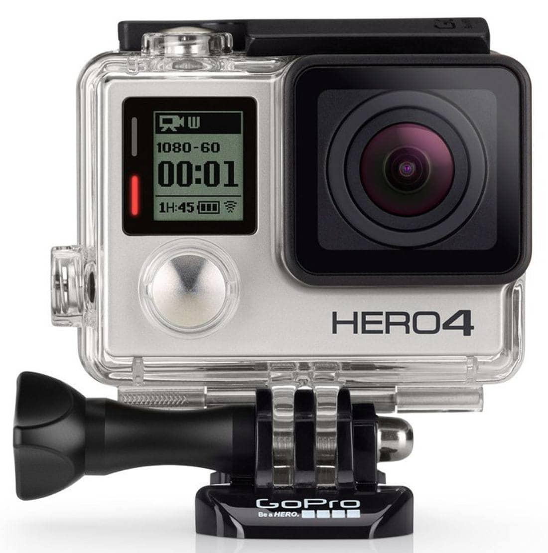 GoPro HERO4 Silver Adventure Action Kamera 12MP WLAN Bluetooth für 379,00 Euro
