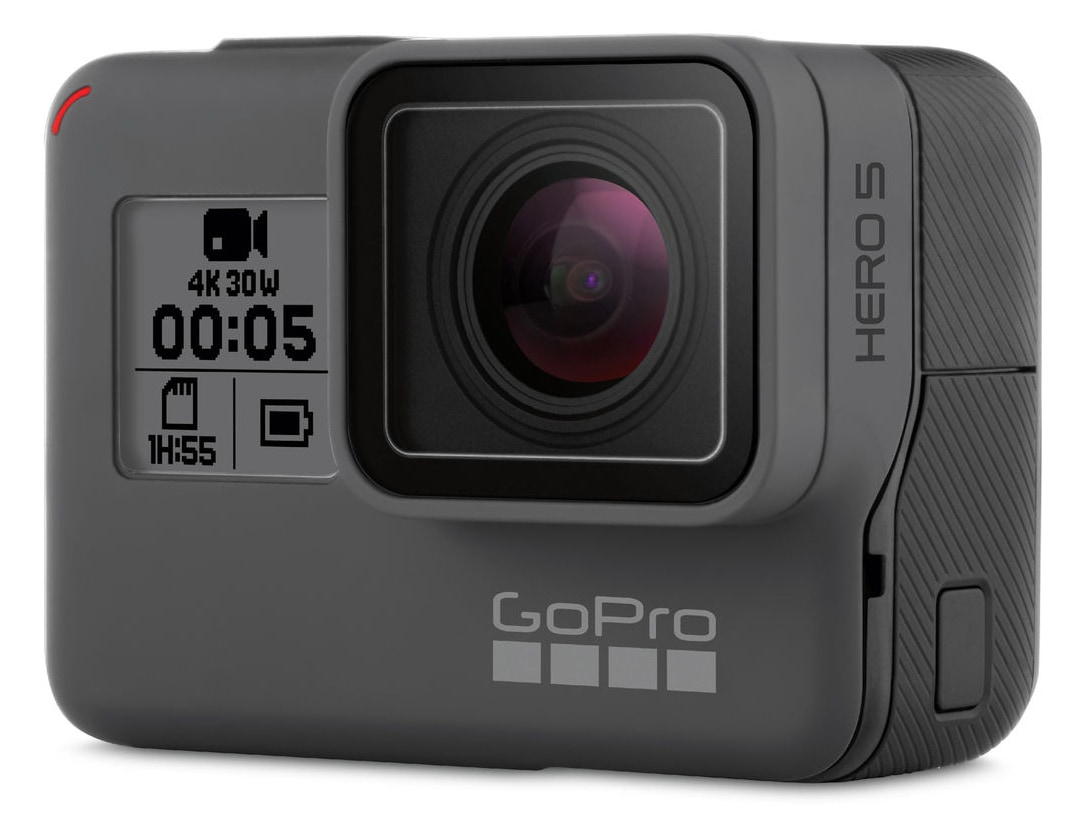 GoPro Hero5 Black Action Kamera 12MP 4K VoiceControl bis 10m wasserdicht für 379,00 Euro