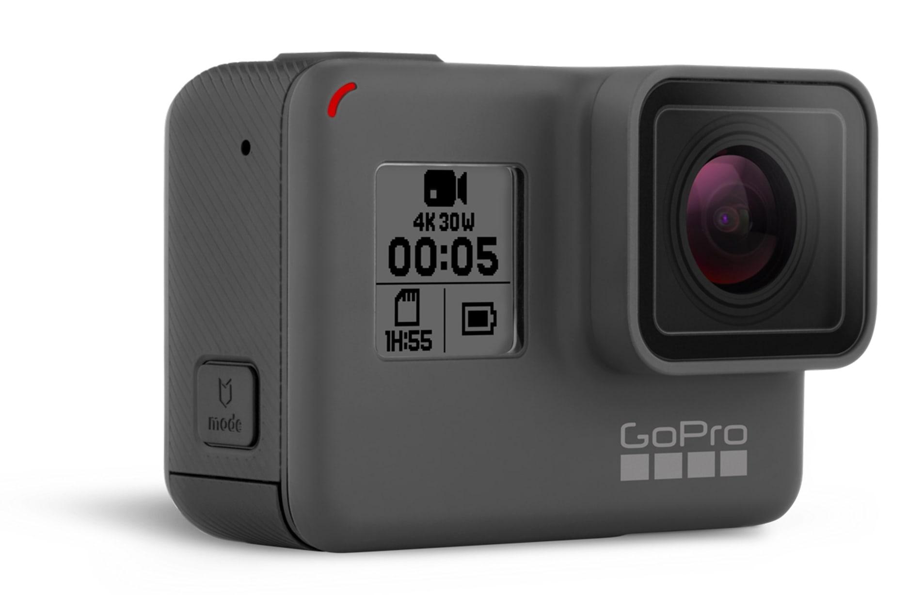 GoPro Hero5 Black Action Kamera 12MP 4K VoiceControl bis 10m wasserdicht für 295,99 Euro