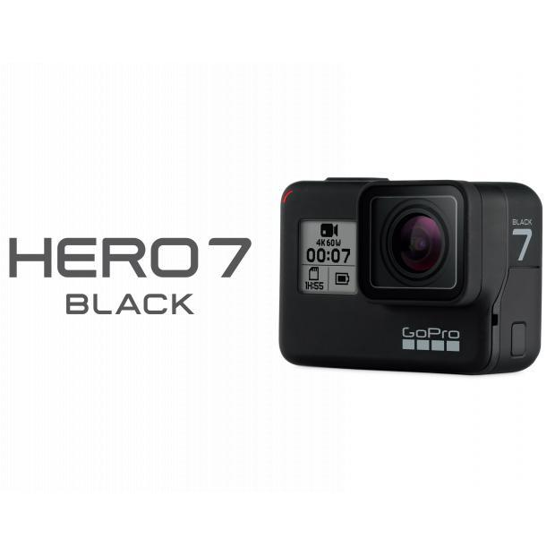 GoPro Hero7 Black Action Kamera 4K60-Videos 12MP HyperSmooth-Videostabilisierung für 289,00 Euro