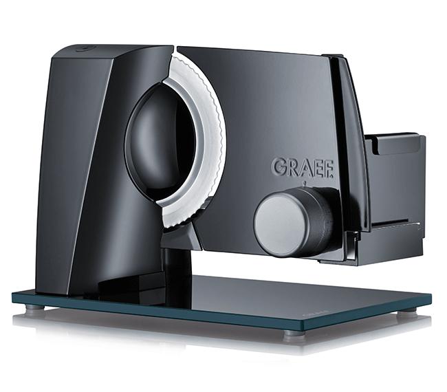 """Graef EVO E 20 """"Black Edition"""" Allesschneider 0-20mm Schnittstärke für 139,99 Euro"""