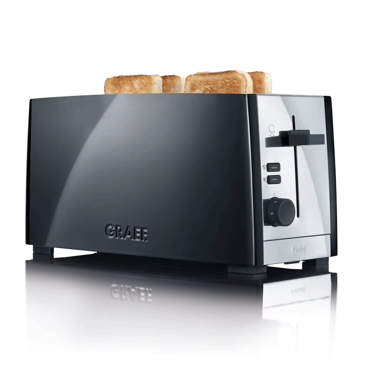 edelstahl toaster im shop bei expert technomarkt. Black Bedroom Furniture Sets. Home Design Ideas