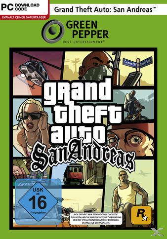 Grand Theft Auto: San Andreas (Green Pepper) (PC) für 6,99 Euro