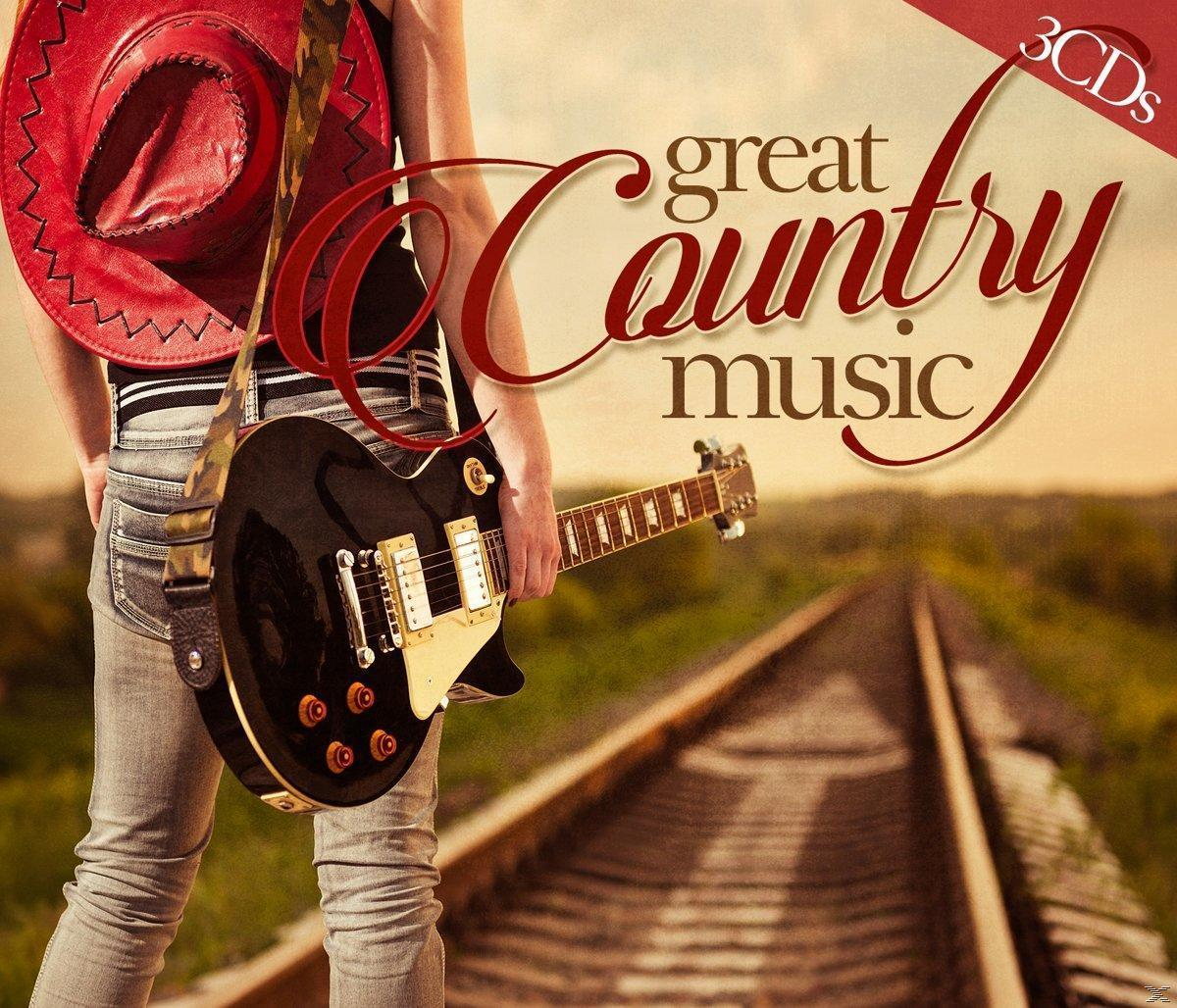 Great Country Music (VARIOUS) für 8,99 Euro
