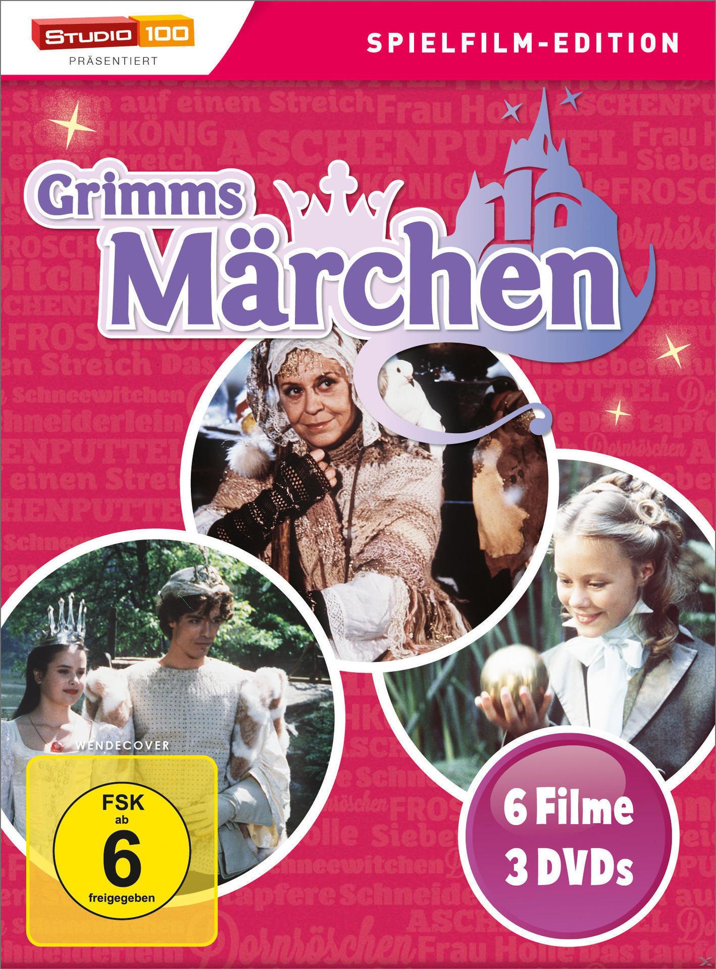 Grimms Märchen Box DVD-Box (DVD) für 14,99 Euro