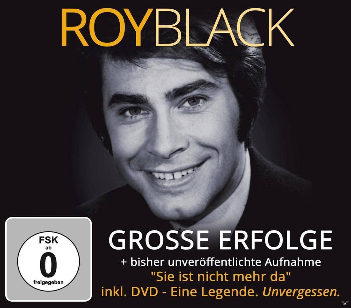 Große Erfolge-inkl.DVD Eine Legende.Unvergesse (Black Roy) für 13,99 Euro