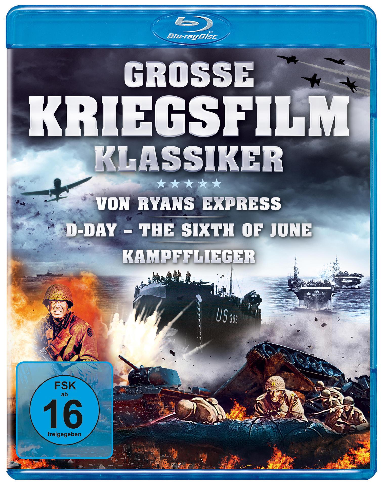 Große Kriegsfilm-Klassiker BLU-RAY Box (BLU-RAY) für 16,99 Euro