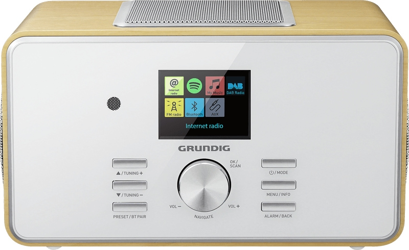 Grundig DTR 6000 2.1 BT DAB+ Internet- und Digitalradio UKW USB Bluetooth für 129,99 Euro