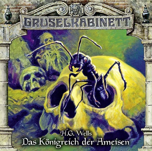 Gruselkabinett: Das Königreich der Ameisen (136) (CD(s)) für 7,49 Euro