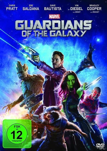 Guardians of the Galaxy (DVD) für 9,99 Euro
