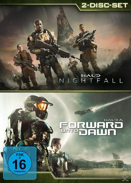 Halo: Nightfall / Halo 4: Forward Unto Dawn (DVD) für 12,99 Euro