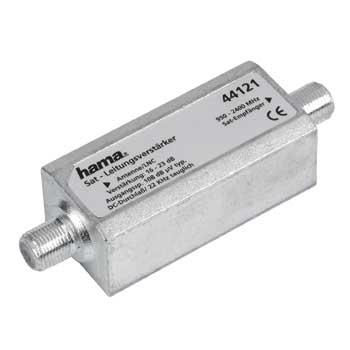 Hama SAT-Inline-Verstärker für 17,99 Euro