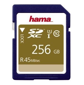 Hama 00114946 SDXC 256GB Class 10 UHS-I 45MB/s für 149,00 Euro
