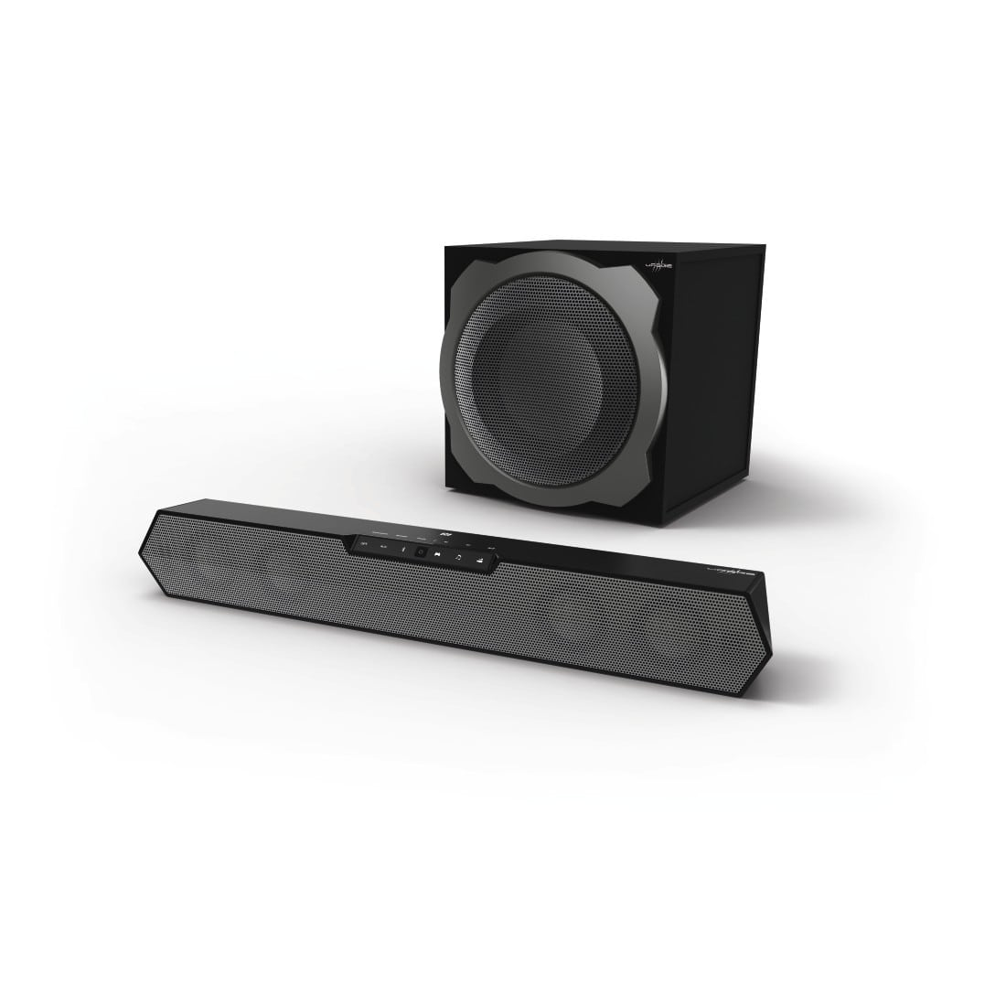 "Hama 00113776 Wireless-Multichannel-Gaming-Sound-System ""uRage SoundZbar 2.1 Unleashed"" für 199,00 Euro"