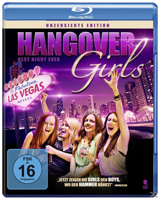 Hangover Girls - Best Night Ever (BLU-RAY) für 14,99 Euro