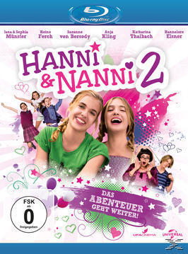 Hanni & Nanni 2 (BLU-RAY) für 8,99 Euro