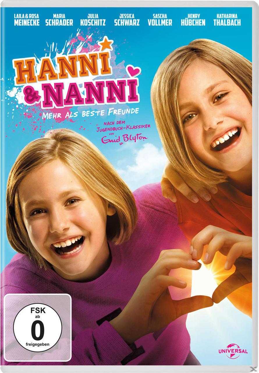 Hanni & Nanni - Mehr als beste Freunde (DVD) für 9,99 Euro