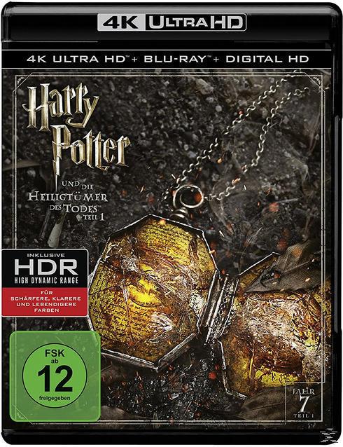 Harry Potter und die Heiligtümer des Todes - Teil 1 (4K Ultra HD BLU-RAY + BLU-RAY) für 24,99 Euro