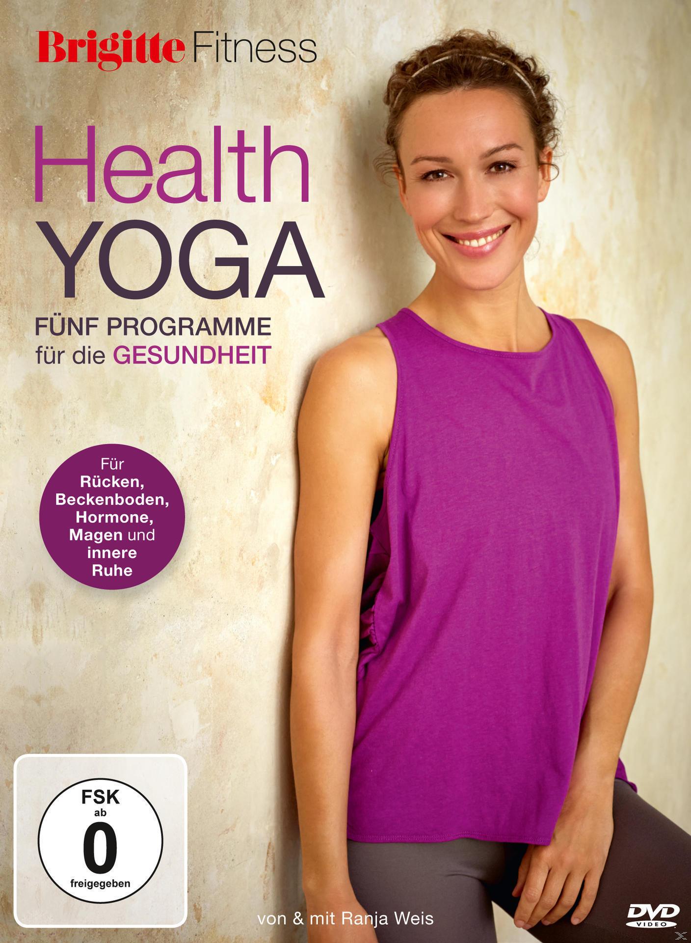 Health Yoga - fünf Programme für die Gesundheit (DVD) für 16,99 Euro