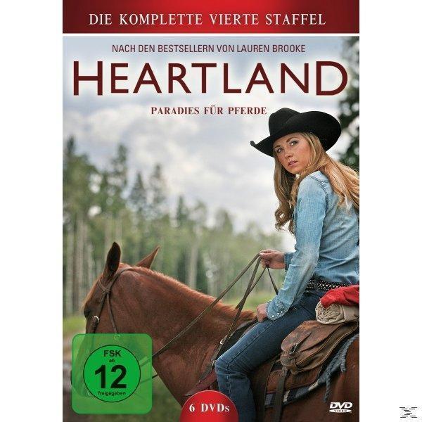 Heartland - Paradies für Pferde - Staffel 4 (DVD) für 18,99 Euro