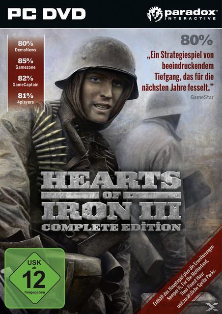 Hearts of Iron 3 Complete Edition (PC) für 19,99 Euro
