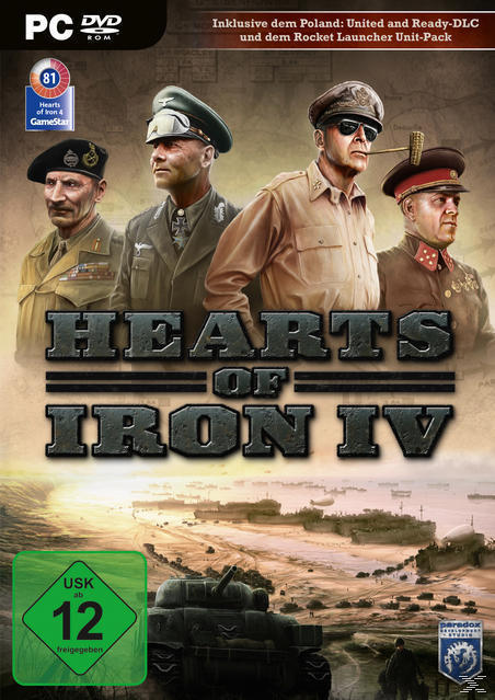Hearts of Iron IV (PC) für 19,99 Euro