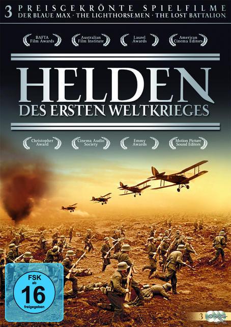 Helden des ersten Weltkriegs DVD-Box (DVD) für 9,99 Euro