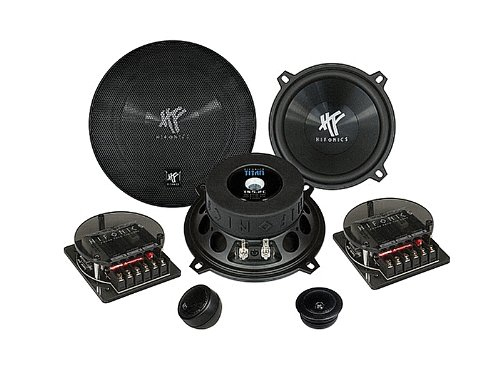 Hifonics TS5.2C Auto-Lautsprecher 2-Wege-Komponenten-System 13cm 100/200W für 139,00 Euro